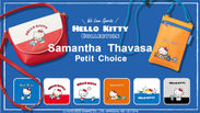 Samantha Thavasa Petit Choice×HELLO KITTY