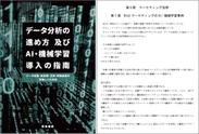 データ分析の進め方及びAI・機械学習導入の指南