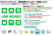 サテライトオフィス・勤怠管理 / タイムカード for LINE WORKS