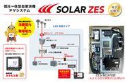 低圧一体型自家消費PVシステム「SOLAR ZES」