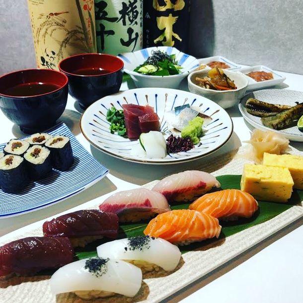 東京・神田の「寿司酒ららら」、都民限定特別プラン 1日1家族限定の貸切ランチサービスを開始!