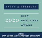2020 Japan Data Center Provider of the Year