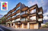 「子育て支援住宅」認定された「ライフレビュー川崎久地グランヒル」(建物完成予想図)