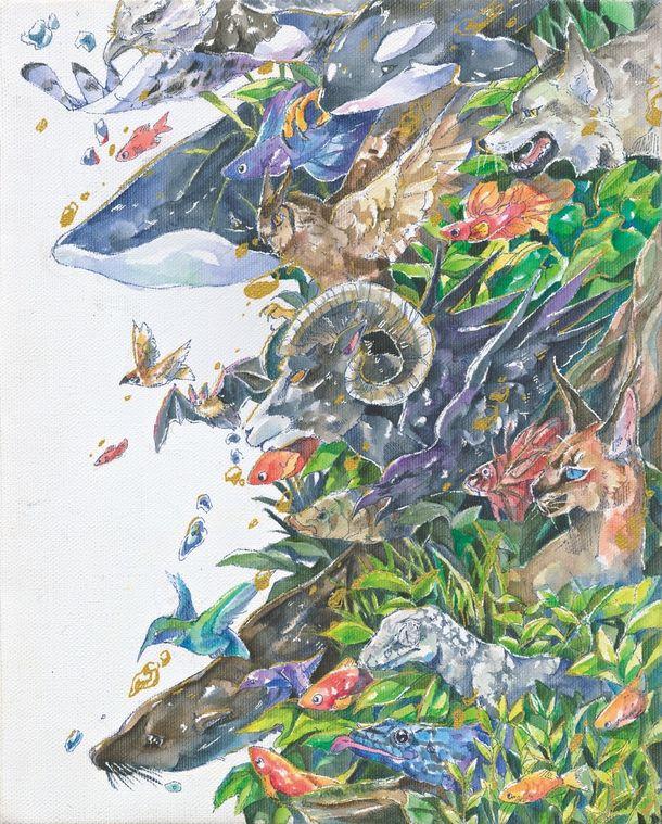 第13回「鉄鋼スラグ製品と海と森」アートコンテスト作品募集 様々な生命が生き生きと輝き、共存している様子を表現!~応募締切は2021年1月31日~