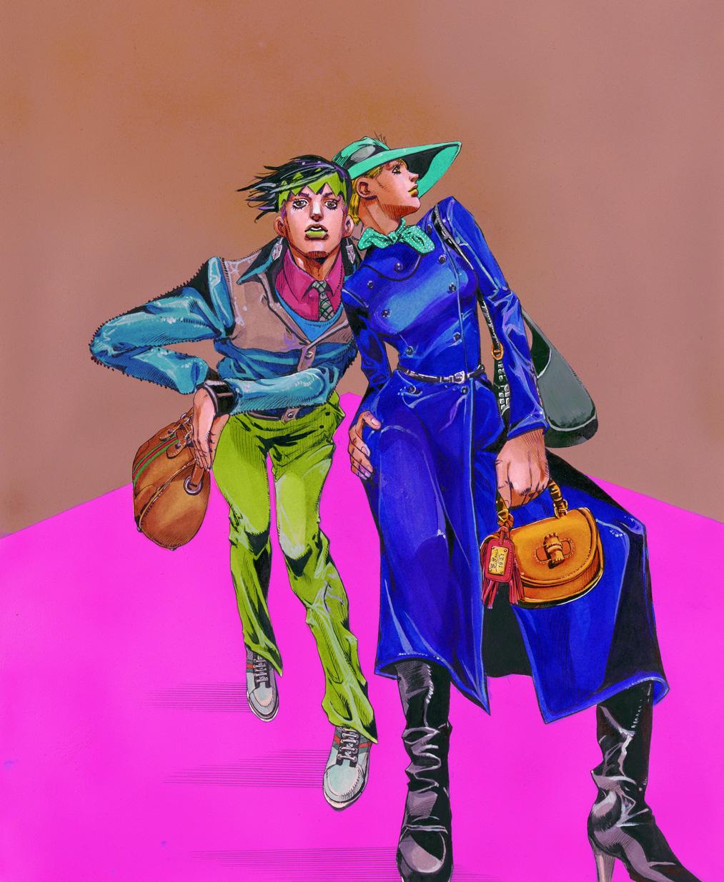 235463d3685d 9月17日(土) グッチ新宿 リニューアルオープン荒木飛呂彦 の原画展 開催 ...