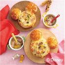 <親子レッスン>ミッキーマウス/グラタンパン・コンソメスープ