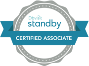 「Dbvisit Standby Certified Associate」ロゴマーク