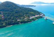 空から見た周防大島町の様子