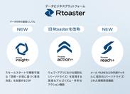 Rtoasterの新旧表