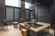 【客室露天風呂】『SANA』露天風呂付客室/ロフトベッドルーム
