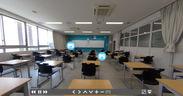 オリジナルパノラマビュー 教室展示イメージ(アイコンクリックでコンテンツへ)