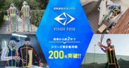 VisionPose(R)導入200社突破