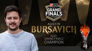 2020年シーズン・グランドファイナル優勝者 オースティン・バーサヴィッチ選手(アメリカ)