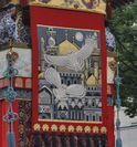 バグダッド宮殿の化粧山車(祇園祭)
