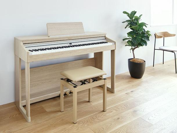 エントリー向けながらサウンドとデザインにこだわった家庭用デジタルピアノを発売 ~インテリアに調和する上質なデザイン。初心者にもわかりやすい操作性とサポート機能~