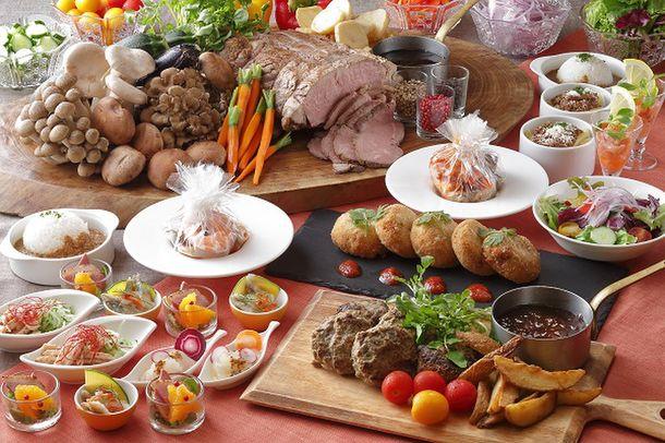 琵琶湖ホテル「レストラン ザ・ガーデン」のビュッフェがニューノーマルに対応した新形式で11月1日(日)にリニューアルオープン!