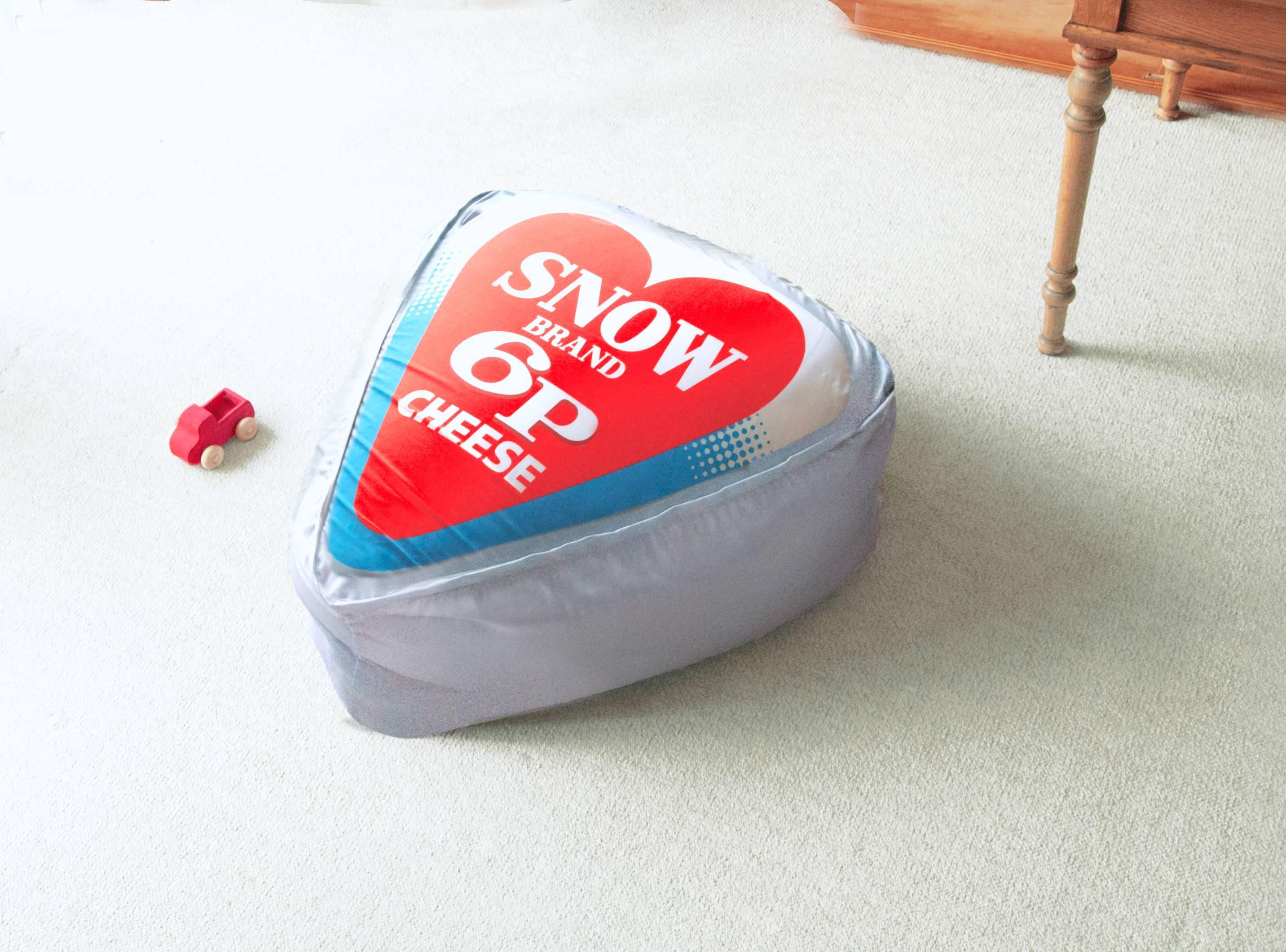 クッション 6p チーズ