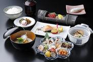 大津百町めぐり会席料理イメージ