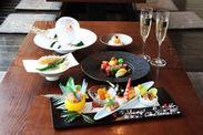 XEX ATAGO GREEN HILLS/tempura & sushi An クリスマスのお献立