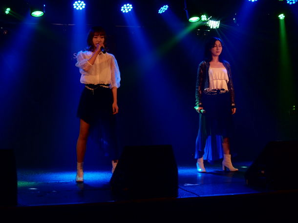 AKB派生ユニットDiVA出身の二見夕貴がプロデュース バルカン音楽アイドルユニット・紗音都、新体制ライブレポート