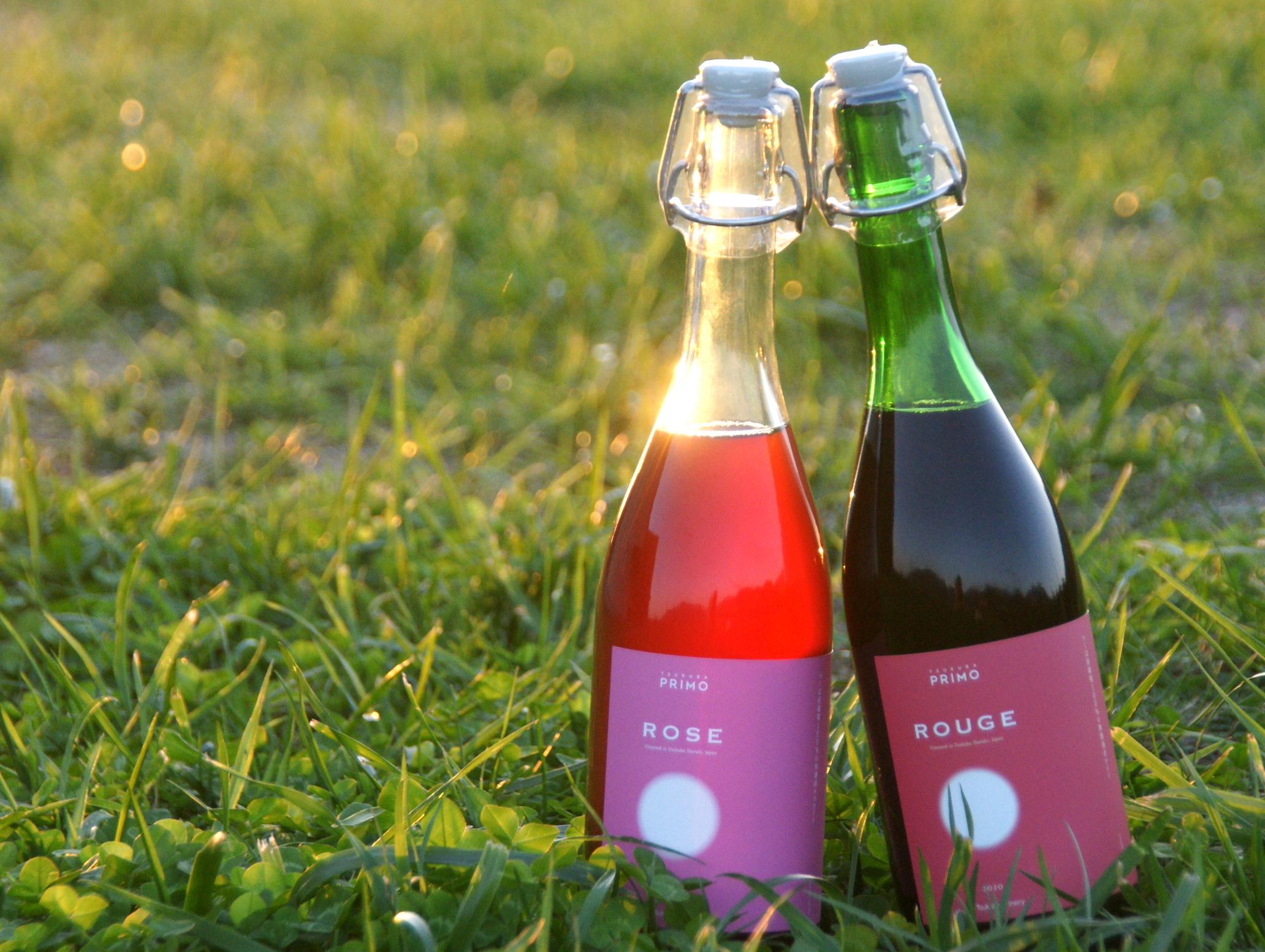 つくばワイナリー、最初の雫。無濾過ワイン「プリモ・シリーズ」を発売。~今年はスパークリングもラインナ... 画像