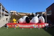 全長約6mの巨大なスヌーピー