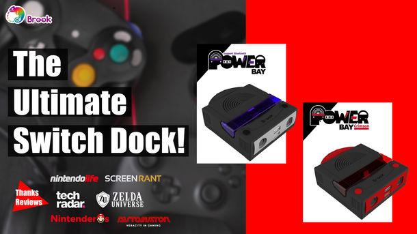 Switch用の究極ツールである「Brook PowerBay」がHoliday Seasonで絶大な販売実績を残す!4月にはイーサネットポートを備えたPowerBayをリリース予定