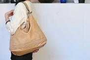 エコ材料でつくったファッションバッグ