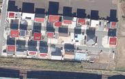 建物上太陽光発電設備の形状抽出・面積算定