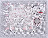 Photo.01 上弦の月を喰べる獅子(1990年 26×32cm) ガンガー・デーヴィー
