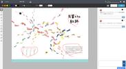 PDFのデザイン案に画面上でそのままコメントを書き込めることで、リモートワーク環境でも容易に意思疎通ができる