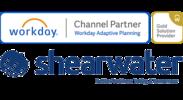ShearwaterはWorkday Adaptive Planningのゴールドパートナーです