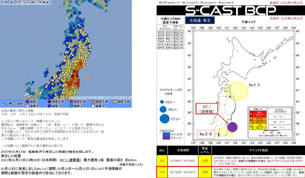 地震予測情報「S-CAST」 大規模地震からいのちを守るための情報 期間 ...
