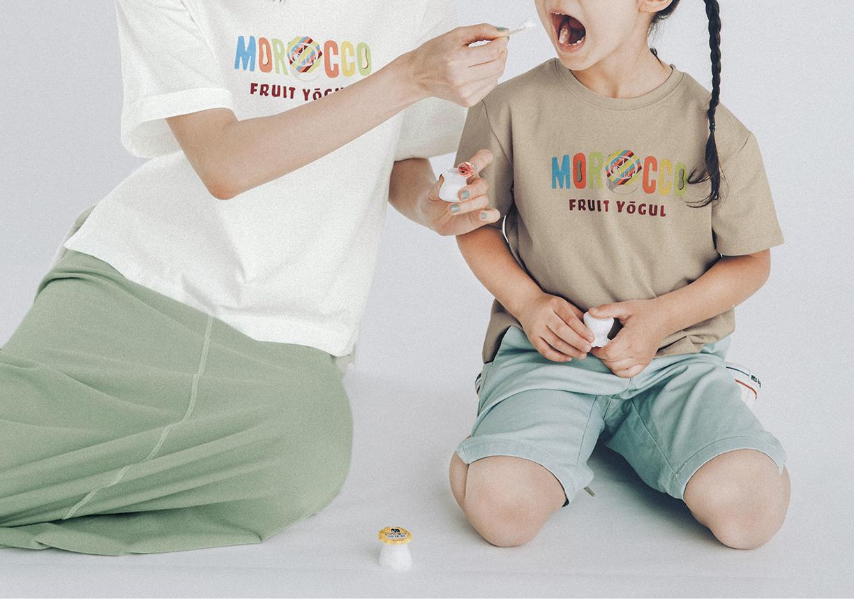 ベルメゾン老舗駄菓子メーカーとコラボ大人も子供も、みんなで楽しめてコミュニケーションが広がる「駄菓子コラボTシャツ」4月23日より発売開始