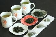 煎茶3品種をティーバッグで飲み比べ