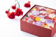 いちごとお花のババロワ