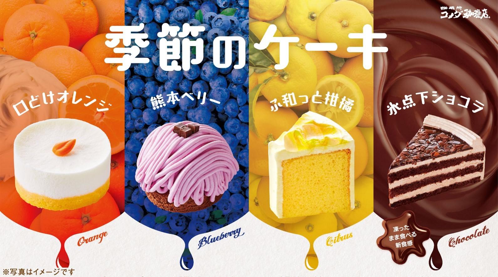 \初夏の新作登場/季節のケーキを5月19日(水)より季節限定で販売開始 ~オレンジが香るふわふわ食感... 画像