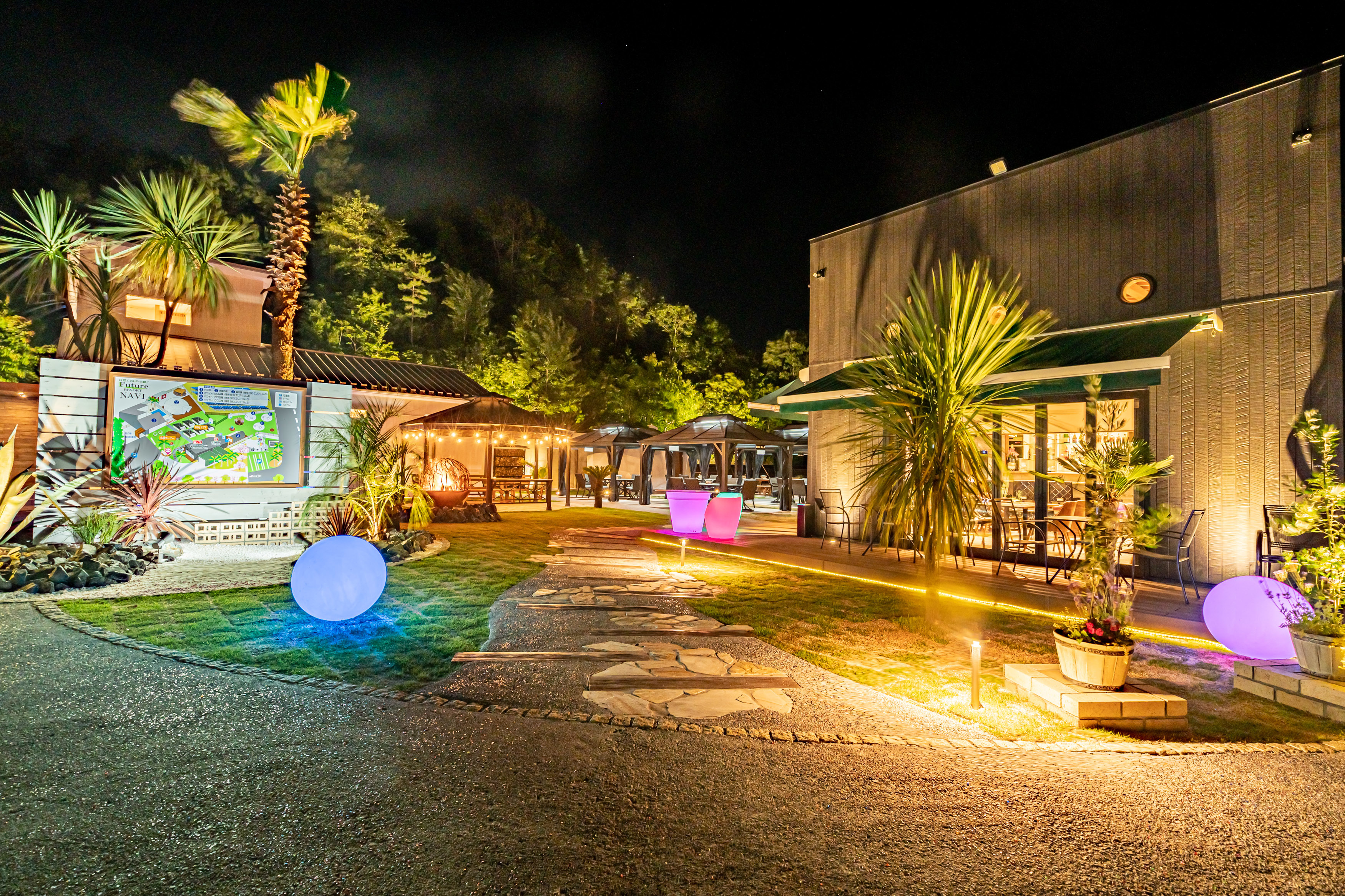 滋賀県長浜市に新たなグランピングリゾート「フューチャーリゾート」が6月22日(火)にオープン! 画像