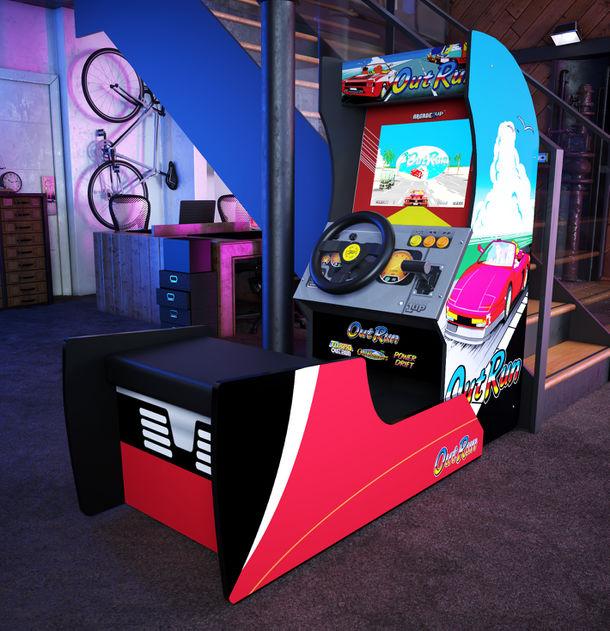家庭用ゲーム筐体「ARCADE1UP OutRun」が2021年8月より発売 ~自宅がまるでゲームセンター!~