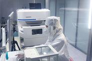 リュウグウの試料を分析する蛍光X線分析装置