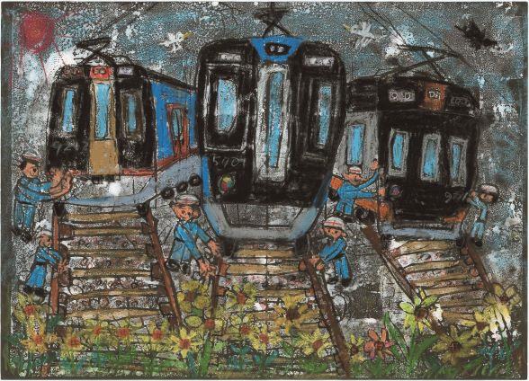 「ぼくとわたしの阪神電車」 みんなの絵を大募集!