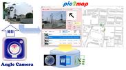 Angle Camera+pic2map 概要図