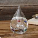 プレゼントのガラスフロート温度計