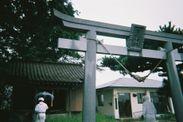 震災直後の清神社2