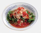 冷しトマト麺