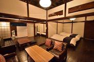 広々リビングと寝室