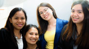 英語を教えてくれるフィリピン人講師たち