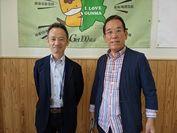 ウェルネスシェア株式会社 代表取締役 長谷川 日本健康文化協会 理事長 須藤