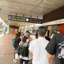 博多駅ホーム店舗時の行列