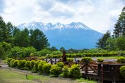 風里テラスと木曽御嶽山